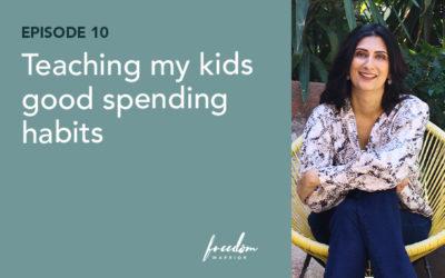 Teaching My Kids Good Spending Habits